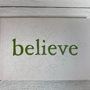 Believe Book - Motivation & Inspiration